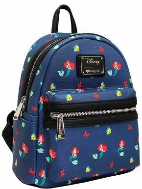 Bolso mochila La Sirenita Disney Loungefly