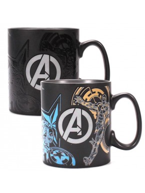 Taza Térmica Marvel Avengers Logo