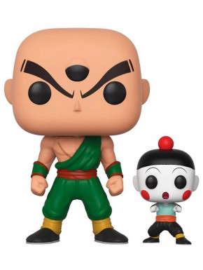 Funko Pop! Ten Shin Han y Chiaotzu Dragon Ball Z