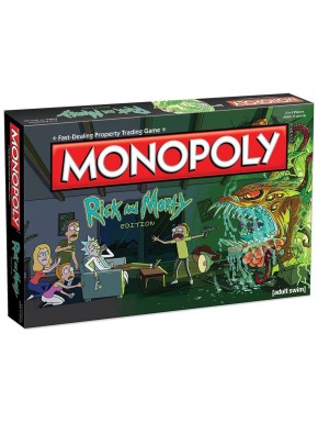 Monopoly Rick y Morty