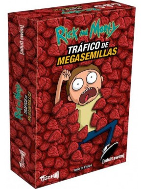 Juego de Mesa Rick & Morty Tráfico de Megasemillas