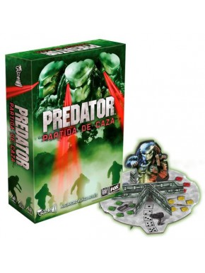 Juego de Mesa Predator: Partida de Caza