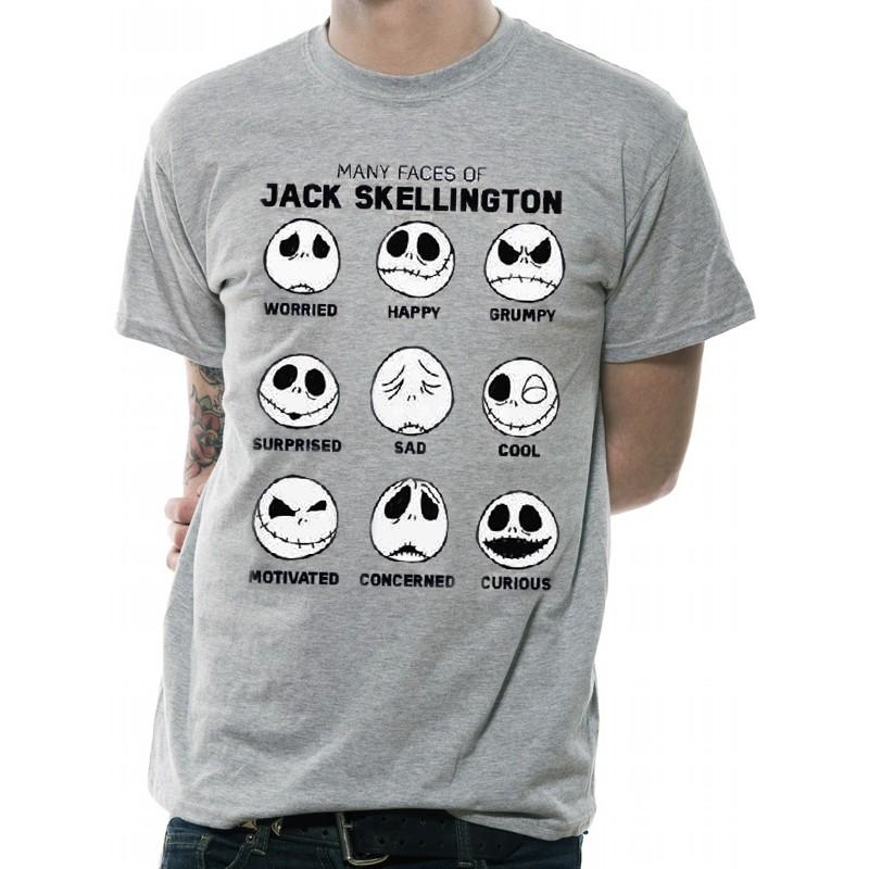Camiseta Pesadilla antes de Navidad Jack por 18 5f4b7986b2849