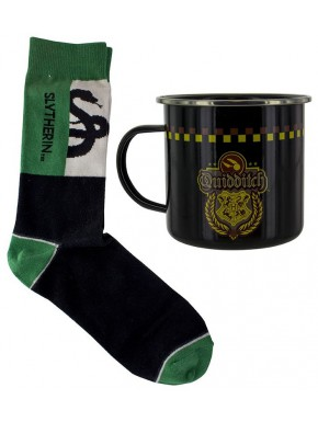 Set Taza + Calcetines Harry Potter Slytherin