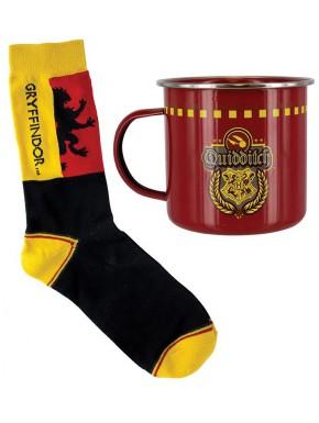 Set Taza + Calcetines Harry Potter Gryffindor
