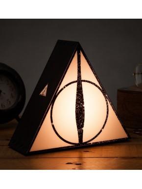 Lámpara Harry Potter Reliquias de la Muerte 3D
