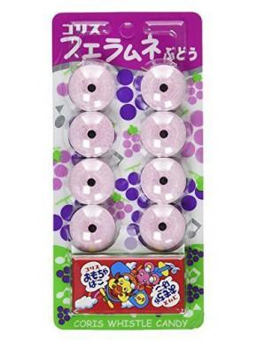 Set de caramelos Anillo con Sonido Sabor Uvas