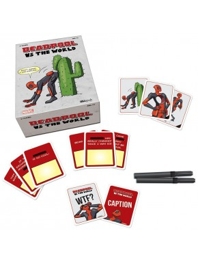 Juego de Cartas Deadpool vs The World