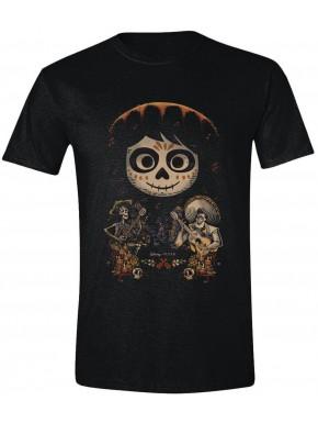 Camiseta Coco - Miguel Face