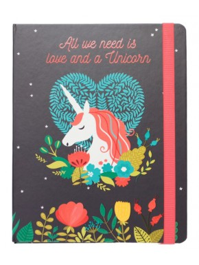 Cuaderno A5 Unicornio All You Need is Love