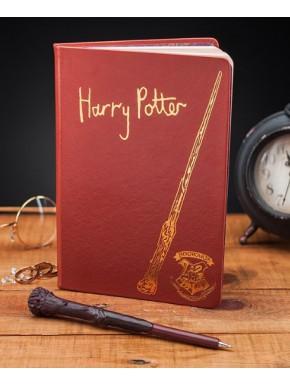 Set de Libreta y Bolígrafo Varita Harry Potter