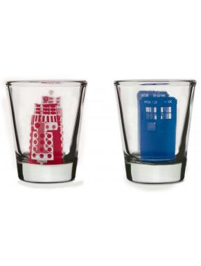Vasos Chupito Doctor Who Dalek & Tardis