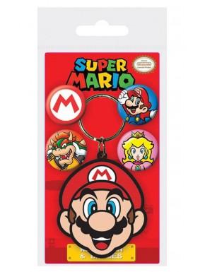 Set de llavero y chapas Super Mario