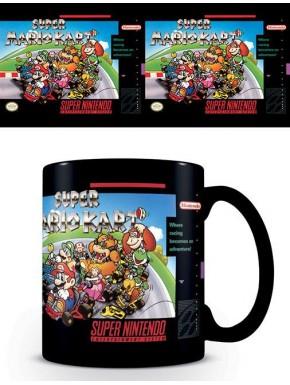 Taza Super Nintendo Mario Kart