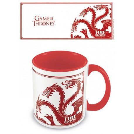 Taza Juego de Tronos Targaryen Fire And Blood