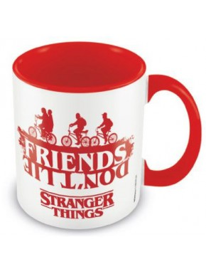 Taza Stranger Things Friends Don't Lie