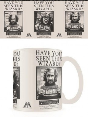 Taza térmica Harry Potter Wanted Sirius Black