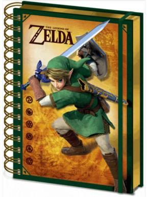 Libreta 3D Premium Zelda Link
