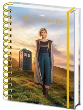 Libreta Cuaderno A5  Doctor Who 13th Doctor
