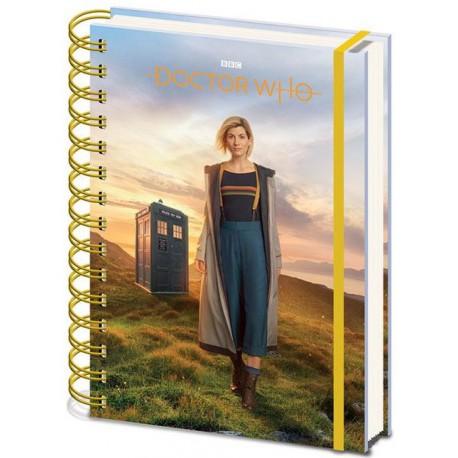 Libreta Cuaderno A5  Doctor Who 13th Doctor
