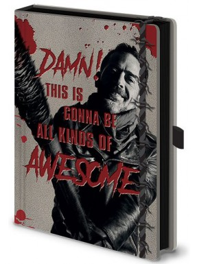 Libreta Premium A5 The Walking Dead Negan y Lucille