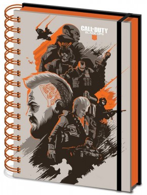 Libreta Cuaderno A5 Call of Duty