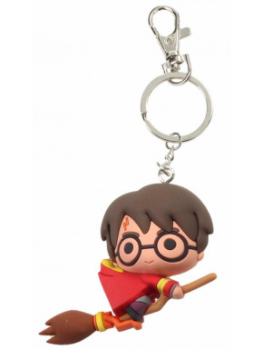 Llavero Kawaii Harry Potter con Escoba