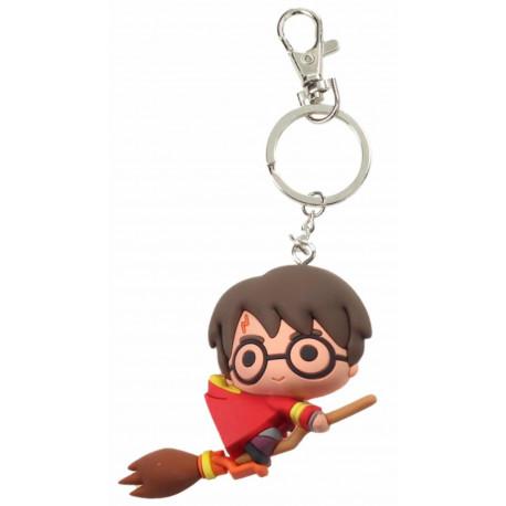 Llavero Kawaii Harry Potter con Escoba