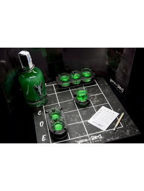 Juego de Chupitos Fuego Valyrio Botella + Vasos + Juego