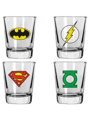 Vasos chupito DC Comics Logotipos