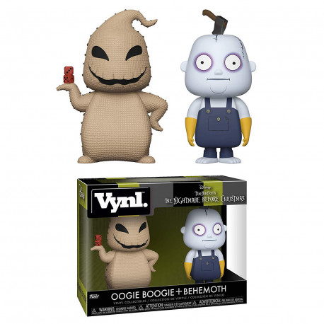 Set Figuras Oogie Boogie & Behemoth Pesadilla Antes de Navidad Funko VYNL