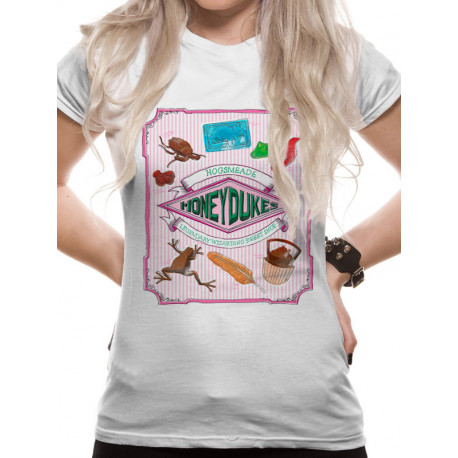 Camiseta Chica Harry Potter Honeydukes