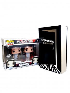Pack El Resplandor Funko Pop Gemelas + Novela