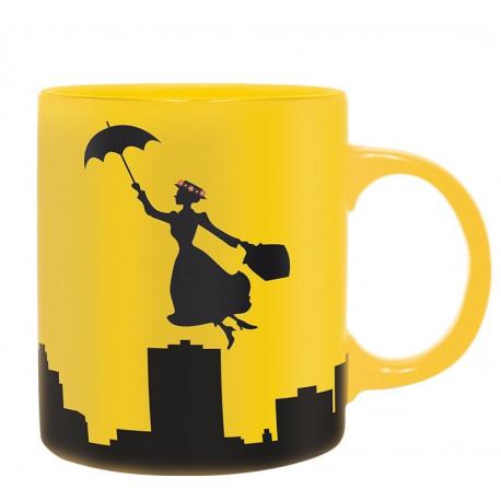 Taza Mary Poppins Silueta Disney