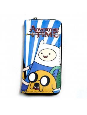 Cartera billetera Jake, Finn y logo HdA