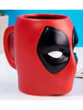 Taza Deadpool 3D Super Hero