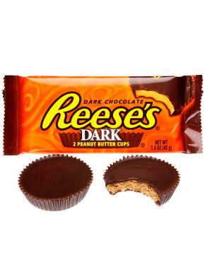 Reese's Chocolate Negro y Mantequilla de Cacahuete