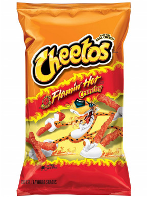 Cheetos Picantes Crunchy Flamin' Hot