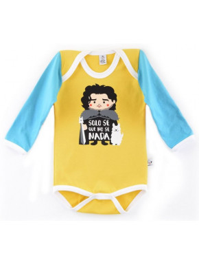 Body bebé Jon Nieve Juego de Tronos Manga Larga
