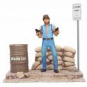 Figura Diorama Matt Hunter Chuck Norris 18 cm