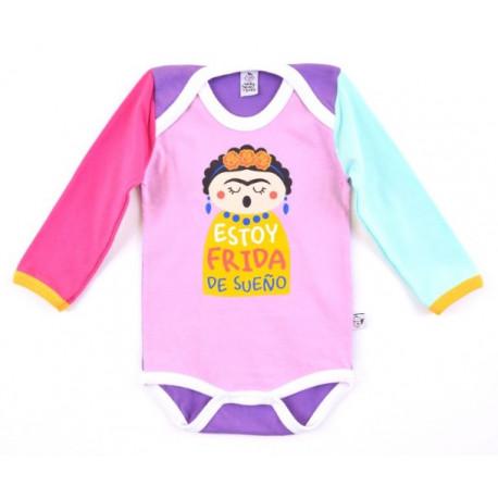 Body bebé Frida de Sueño Manga Larga