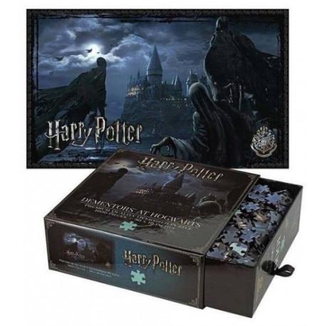 Puzzle Harry Potter Dementores en Hogwarts 1000 piezas