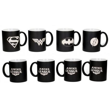 Set 4 tazas DC Comics Deluxe