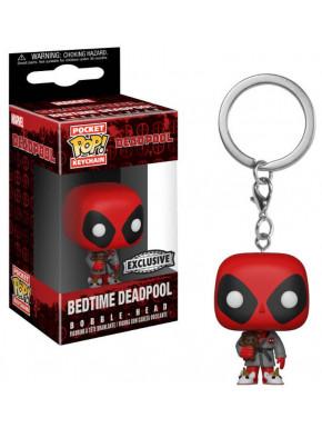 Llavero mini Funko Pop! Deadpool con Bata y Zapatillas