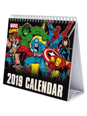 Calendario de Mesa 2019 Marvel Comics