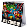 Calendario de Mesa 2019 Marvel Comics