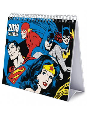 Calendario de Mesa 2019 DC Comics