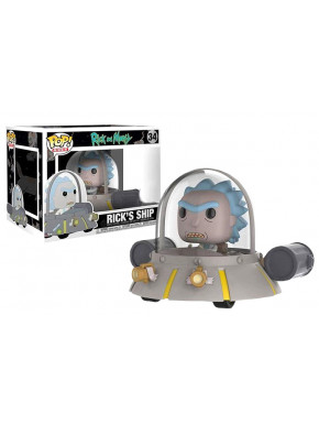 Funko Pop! Rick Nave Espacial Rick y Morty Ed. Limitada