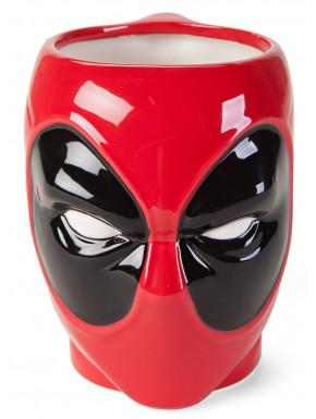 Taza Cerámica Deadpool 3D