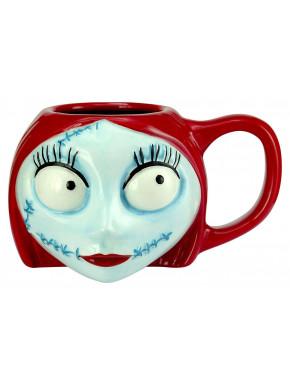 Taza 3D Sally Pesadilla Antes de Navidad